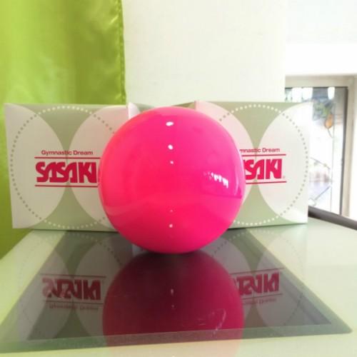 Мяч для художественной гимнастики SASAKI M 20 A однотонный 18,5 см