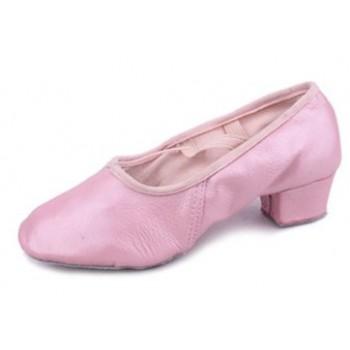 Балетки для танцев Grand Prix BLS11 розовые