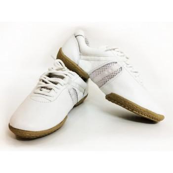 Кроссовки Fenist 210 р.п. кожа белые