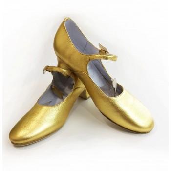 Туфли народные Коваленко золото