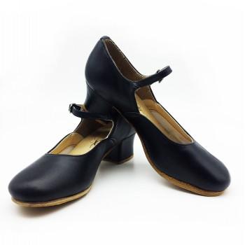 Туфли народные чёрные Club Dance Н-4