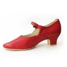 Туфли народные красные X-dance