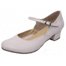 Туфли народные белые Club Dance Н-4