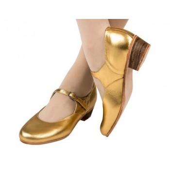 Туфли народные Variant золото