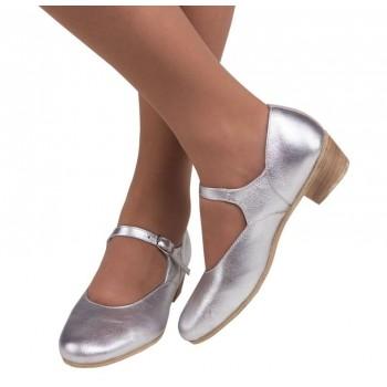 Туфли народные Variant серебро