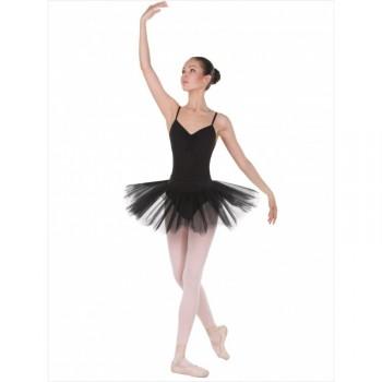 Трико балетное с отверстием Solo TR120 розовое 80DEN