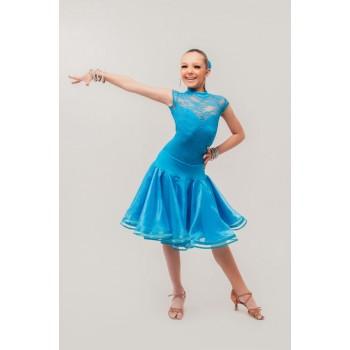 85175e98459 Детские платья для бальных танцев  рейтинговые платья для спортивных ...