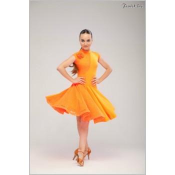 Рейтинговое платье Fenist 856 (оранжевый)