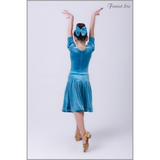 Рейтинговое платье Fenist 861 (голубой)