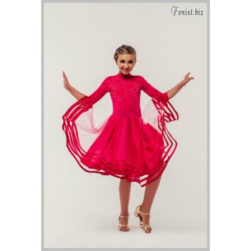 Рейтинговое платье Fenist 831 Рубин