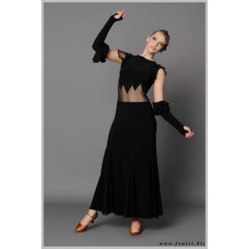 Платье для танцев стандарт Fenist Пламя 162