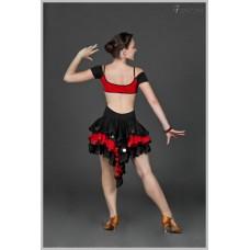 Платье для танцев латина Fenist Барселона 280
