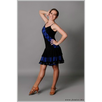 Платье для танцев латина Fenist Бродвей 212