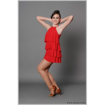 Платье для танцев латина Fenist Елка 151