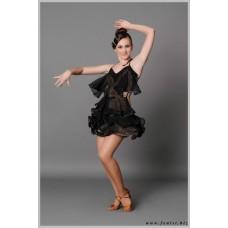 Платье для танцев латина Fenist 206 Иллюзия