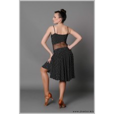 Платье для танцев латина Fenist 50 Коровка