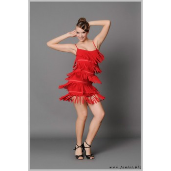 Платье для танцев латина Fenist Лапша 152