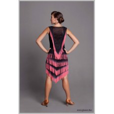 Платье для танцев латина Fenist 214 Ретро