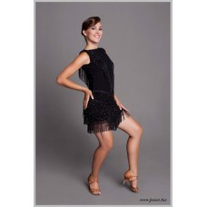 Платье для танцев латина Fenist 213 Ретро золото
