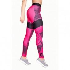 Легги женские Adski sport L18-029 Pink geometry