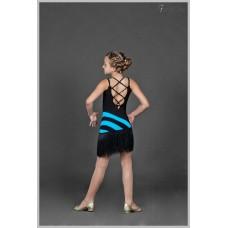 Платье для танцев латина Fenist 208 Пчелка