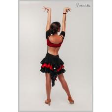 Платье для танцев латина Fenist 280 Барселона