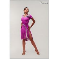 Платье для танцев латина Fenist 281 Косичка