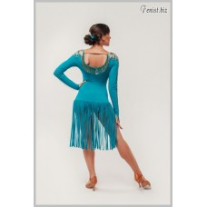 Платье для танцев латина Fenist 282 Сирена