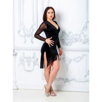 Платье для танцев латина TOPDANCE 228