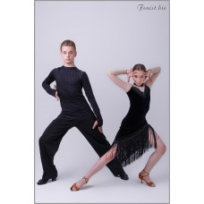 Платье для танцев латина Fenist 286 Манхэттен
