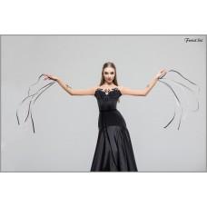 Платье для танцев стандарт Fenist 7701 Gold