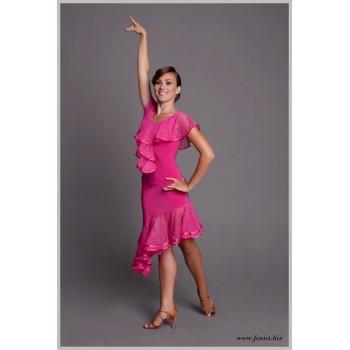 Юбка для танцев латина Fenist ЮЛ-424 Мечта