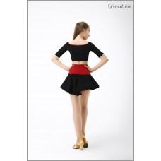 Юбка для танцев латина Fenist ЮЛ-471 Play-2