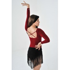 Юбка для танцев латина TOPDANCE 1026/1