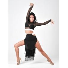 Юбка для танцев латина TOPDANCE 1029