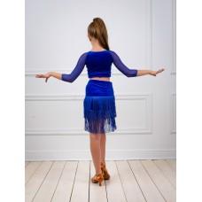 Юбка для танцев латина TOPDANCE 1030v