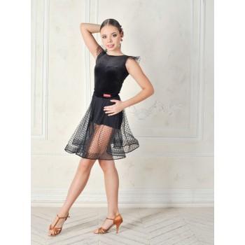Юбка для танцев латина TOPDANCE 1033