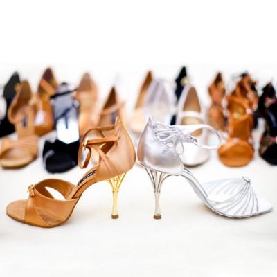 Женские туфли бальные